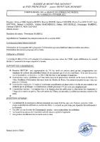 CR Conseil du 5 Février 2021